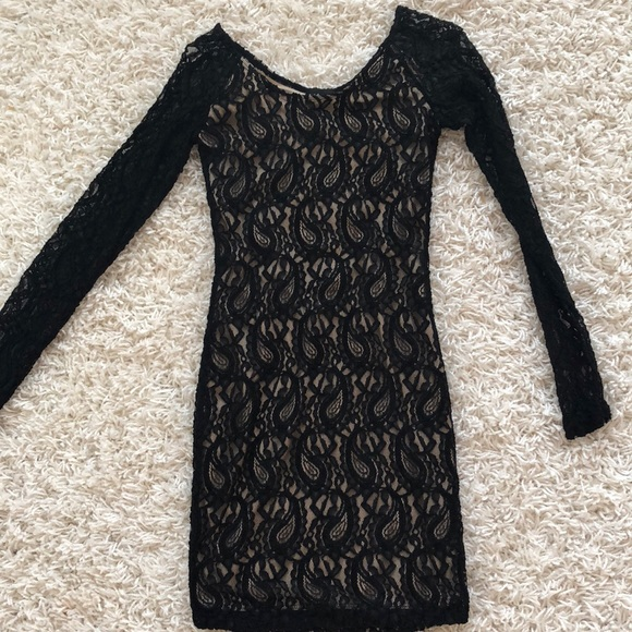 Wet Seal Dresses Black Lace Dress Small Nwt Poshmark